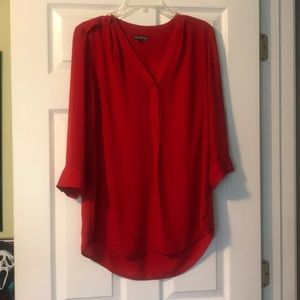 Express Red Tunic